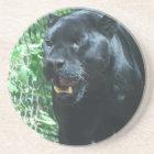 Black Panther Cat Coaster