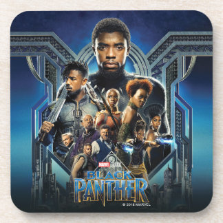 Black Panther | Characters Over Wakanda Coaster