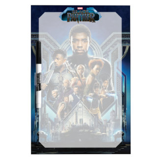Black Panther | Characters Over Wakanda Dry Erase Board