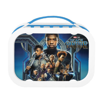 Black Panther | Characters Over Wakanda Lunch Box