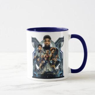 Black Panther | Characters Over Wakanda Mug