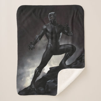 Black Panther | Claws Out Sherpa Blanket