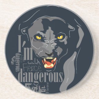 Black panther coaster