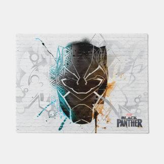 Black Panther | Dual Panthers Street Art Doormat