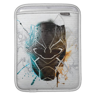 Black Panther | Dual Panthers Street Art iPad Sleeve