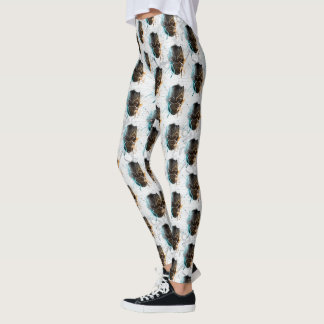 Black Panther | Dual Panthers Street Art Leggings