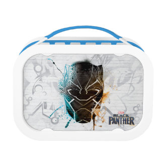 Black Panther   Dual Panthers Street Art Lunch Box
