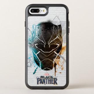 Black Panther | Dual Panthers Street Art OtterBox Symmetry iPhone 8 Plus/7 Plus Case
