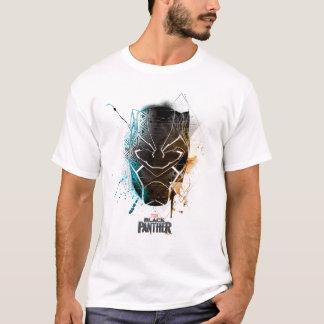 Black Panther | Dual Panthers Street Art T-Shirt