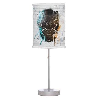 Black Panther | Dual Panthers Street Art Table Lamp