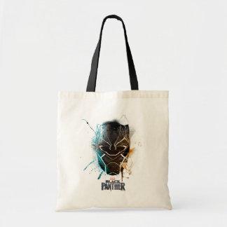 Black Panther   Dual Panthers Street Art Tote Bag
