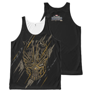 Black Panther | Erik Killmonger Claw Marks All-Over-Print Tank Top