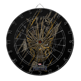 Black Panther | Erik Killmonger Claw Marks Dartboard