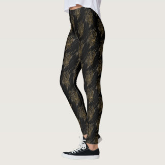 Black Panther | Erik Killmonger Claw Marks Leggings
