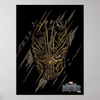 Black Panther | Erik Killmonger Claw Marks Poster