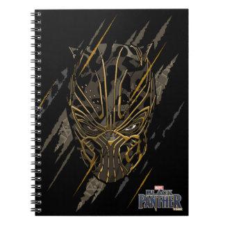 Black Panther | Erik Killmonger Claw Marks Spiral Notebook