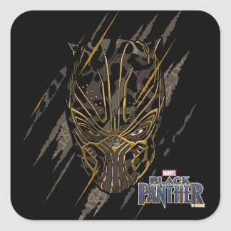 Black Panther | Erik Killmonger Claw Marks Square Sticker