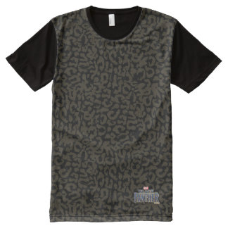 Black Panther | Erik Killmonger Panther Pattern All-Over-Print T-Shirt