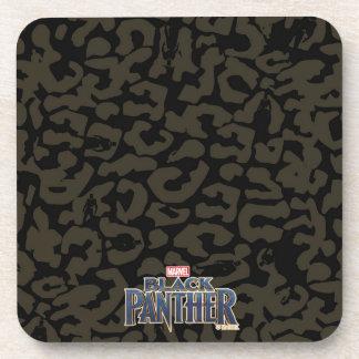 Black Panther | Erik Killmonger Panther Pattern Coaster