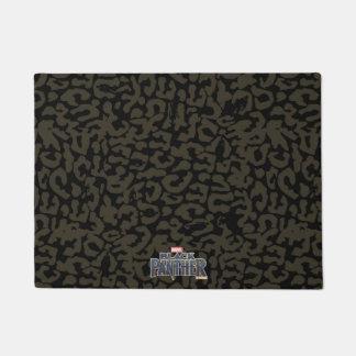 Black Panther | Erik Killmonger Panther Pattern Doormat