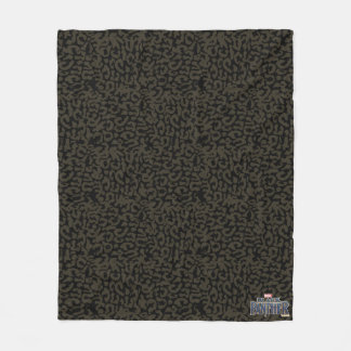 Black Panther | Erik Killmonger Panther Pattern Fleece Blanket