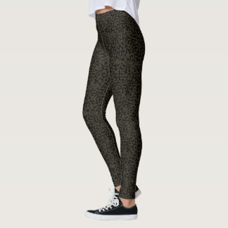 Black Panther | Erik Killmonger Panther Pattern Leggings
