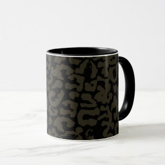 Black Panther | Erik Killmonger Panther Pattern Mug