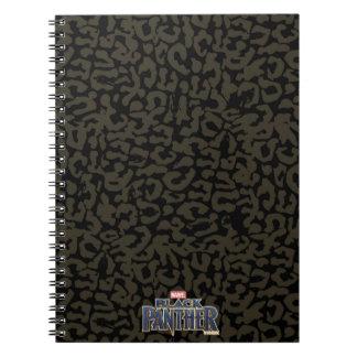 Black Panther | Erik Killmonger Panther Pattern Notebook
