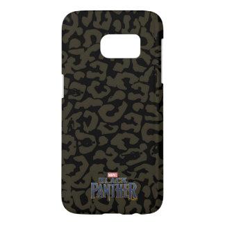 Black Panther   Erik Killmonger Panther Pattern Samsung Galaxy S7 Case