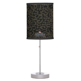 Black Panther | Erik Killmonger Panther Pattern Table Lamp