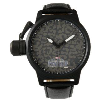 Black Panther   Erik Killmonger Panther Pattern Watch
