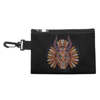 Black Panther   Erik Killmonger Tribal Mask Icon Accessory Bag