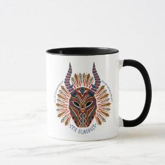 Black Panther | Erik Killmonger Tribal Mask Icon Mug