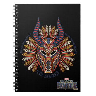Black Panther | Erik Killmonger Tribal Mask Icon Notebook