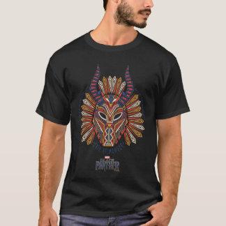 Black Panther   Erik Killmonger Tribal Mask Icon T-Shirt