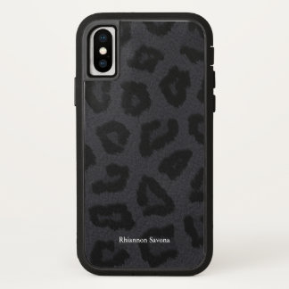 Black Panther Fur iPhone X Case