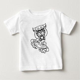 Black Panther Gamer Mascot Baby T-Shirt