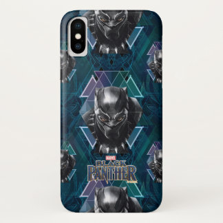 Black Panther | Geometric Character Pattern Case-Mate iPhone Case