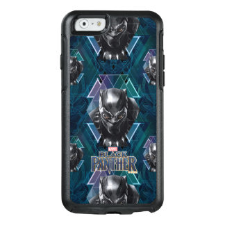 Black Panther | Geometric Character Pattern OtterBox iPhone 6/6s Case
