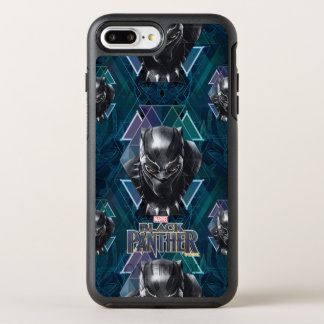 Black Panther | Geometric Character Pattern OtterBox Symmetry iPhone 8 Plus/7 Plus Case