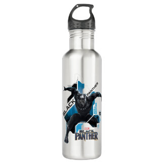 Black Panther | High-Tech Character Graphic 710 Ml Water Bottle