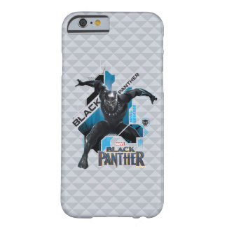 Black Panther | High-Tech Character Graphic Barely There iPhone 6 Case