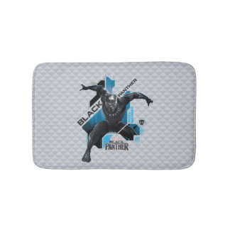 Black Panther | High-Tech Character Graphic Bath Mat