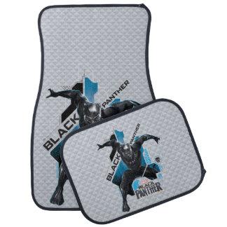 Black Panther   High-Tech Character Graphic Car Mat
