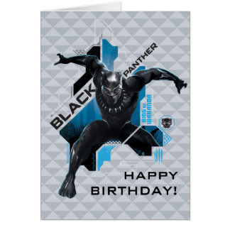 Black Panther | High-Tech Character Graphic Card