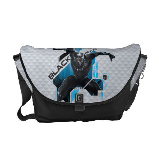 Black Panther | High-Tech Character Graphic Commuter Bag