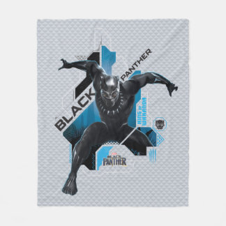 Black Panther | High-Tech Character Graphic Fleece Blanket