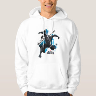Black Panther   High-Tech Character Graphic Hoodie