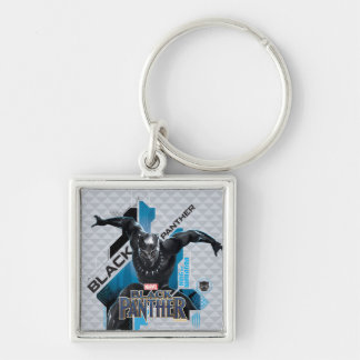 Black Panther | High-Tech Character Graphic Keychain