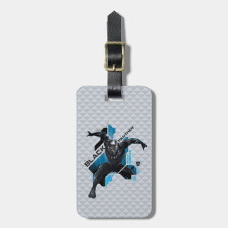 Black Panther   High-Tech Character Graphic Luggage Tag